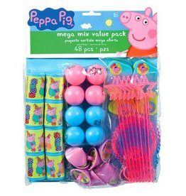 Amscan BABIOLES MEGA PAK - PEPPA PIG (48)