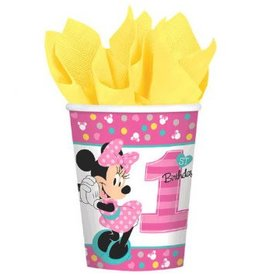 Amscan VERRES 9OZ - DISNEY MINNIE 1 AN