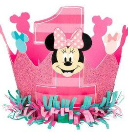 Amscan COURONNE DISNEY MINNIE 1 AN