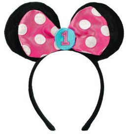 Amscan COIFFE - DISNEY MINNIE 1 AN