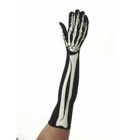 Forum Novelty LONG GANTS SQUELETTE