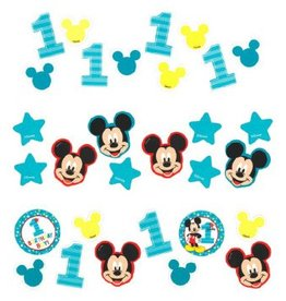 Amscan CONFETTI 1.2OZ - DISNEY MICKEY 1 AN