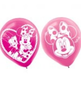 Amscan SAC DE 6 BALLONS DISNEY MINNIE MOUSE