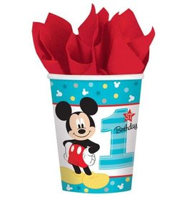 Amscan VERRES 9OZ DISNEY MICKEY 1 AN