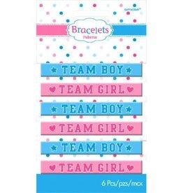 Amscan BRACELETS RUBBER GIRL OR BOY?