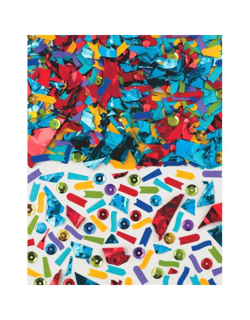 Amscan CONFETTI MIXES 1.5OZ - ARC-EN-CIEL