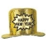 Beistle Co. CHAPEAU À PAILLETTES HAPPY NEW YEAR