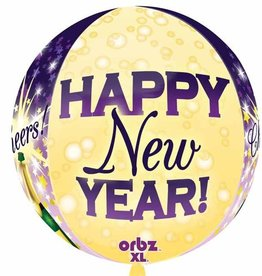 Anagram BALLON ORBZ CHEERS NEW YEAR