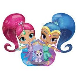 Anagram BALLON MYLAR AIRWALKER - SHIMMER AND SHINE