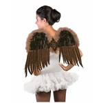 Forum Novelty AILES DE FANTAISIE EN PLUME BRUNES