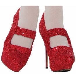 Forum Novelty COUVRE-SOULIERS ROUGE BLANCHE NEIGE