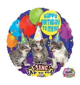Anagram BALLON MYLAR CHANTANT - CHATS
