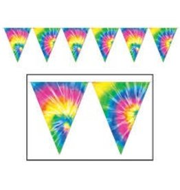Beistle Co. FANION TIE-DYED