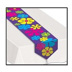 Beistle Co. CHEMIN DE TABLE FLEURS RETRO