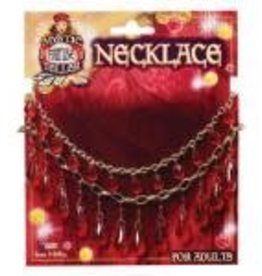 Forum Novelty COLLIER ROUGE GYPSIE