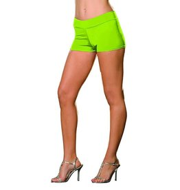 Dreamgirl HOT SHORT EXTENSIBLE LIME S-M