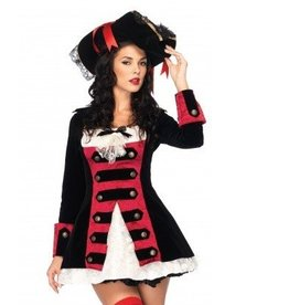 Leg Avenue COSTUME ADULTE PIRATE CHARMANTE  MEDIUM