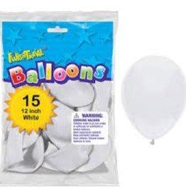 FUNSATIONAL SAC DE BALLONS - BLANC (15)