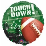 Anagram BALLON MYLAR 18PO - FOOTBALL TOUCHDOWN