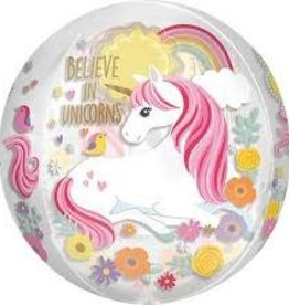 Anagram BALLON ORBZ BELIEVE IN UNICORNS