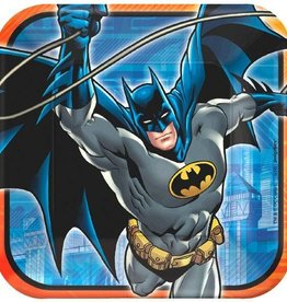Amscan PLATES 9 INCHES BATMAN