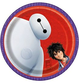 Unique PLATES 7 INCHES BIG HERO 6 (8)