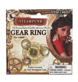 "Forum Novelty BAGUE ENGRENAGE ""STEAMPUNK"""