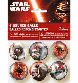 Unique BALLES REBONDISSANTES (6) - STAR WARS EPISODE VII