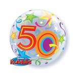"Qualatex 50 BRILLIANT STARS 22"" BUBBLES"