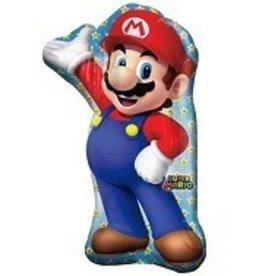 Anagram BALLON MYLAR SUPERSHAPE SUPER MARIO