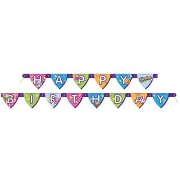 Unique BANNER HAPPY BIRTHDAY SHOPKINS