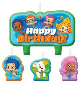 Amscan CHANDELLES  BUBBLE GUPPIES