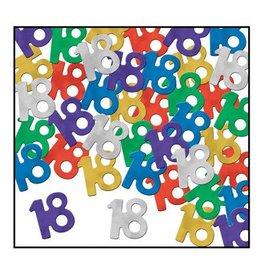Beistle Co. CONFETTIS 18 ANS (0.5OZ)