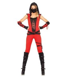 Leg Avenue COSTUME ADULTE NINJA ASSASSIN
