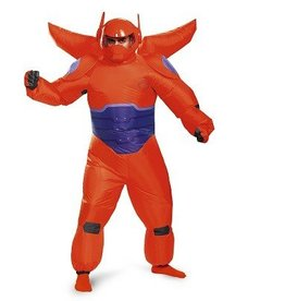 Disguise COSTUME ADULTE BAYMAX ROUGE GONFLABLE STD