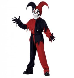 California Costumes COSTUME EVIL JESTER CHILD