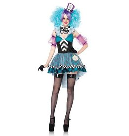 Leg Avenue COSTUME CRAZY MAD HATTER WOMAN
