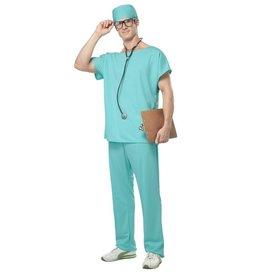California Costumes COSTUME ADULTE DOCTEUR -
