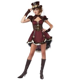 California Costumes COSTUME STEAMPUNK LADY