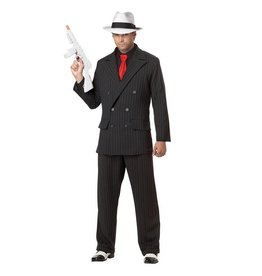 California Costumes COSTUME ADULTE GANGSTER MAFIEUX