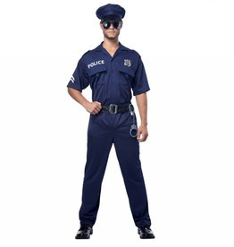 California Costumes COSTUME POLICE OFFICER ADULT