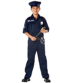 California Costumes COSTUME CHILD POLICE