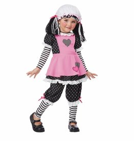 California Costumes COSTUME DOLL CLOTH TODDLER