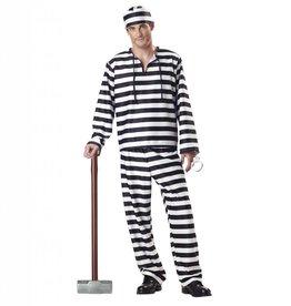 California Costumes COSTUME ADULTE PRISONNIER -
