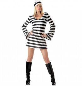 California Costumes *COSTUME ADULTE PRISONNIERE