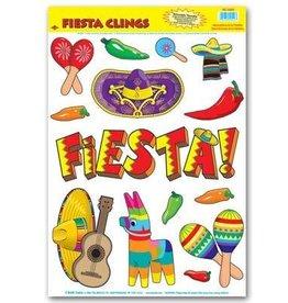 Beistle Co. DECORATIONS DE FENETRE FIESTA