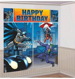 Amscan BATMAN WALL DECORATION