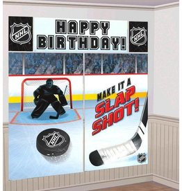 Amscan NHL WALL DECORATIONS