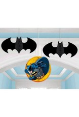 Amscan DECORATIONS SUSPENDUES BATMAN