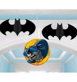 Amscan DECORATIONS SUSPENDUES BATMAN